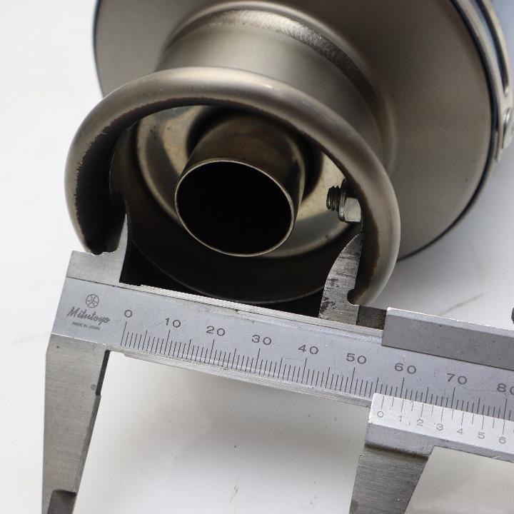 ZRX1100 ZRT10C MotoGear  : サイレンサー : 60.8φ