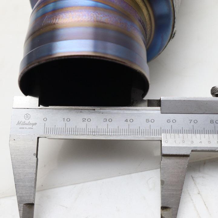 汎用差し込み径φ60.5 クラフトアルマジロ : サイレンサー : マーベリック φ60.5