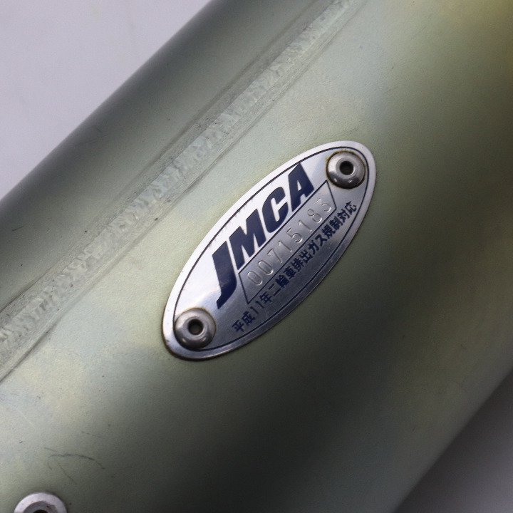 CB400SF 99~07 ZERO ANO/WT モリワキ製 スリップオンサイレンサー