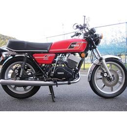 RD400 1976年モデル 逆輸入車 車検令和4年7月まで付いています。