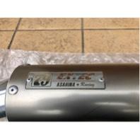アサヒナレーシング 79EXTEC 汎用チタンシェルサイレンサー 約60.5mm 美品