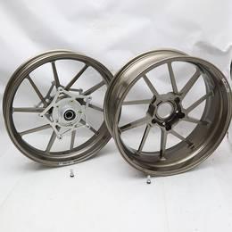 新品未使用品★BMW K1300S/R/GT GALE SPEED/ゲイルスピード ホイール ブロンズ 前後セット