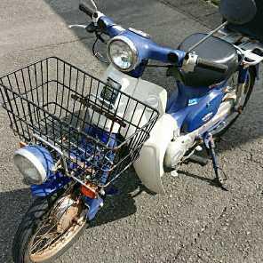 ホンダ カブ 50cc  4スト ジャンク