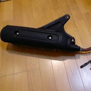 ヤマハvoxデラックス JBH-SA31J 純正マフラー 黒