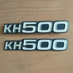 KH500  サイドカバーエンブレム