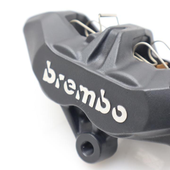 新品★brembo/ブレンボ フロントブレーキキャリパー 4POT 65mmピッチ