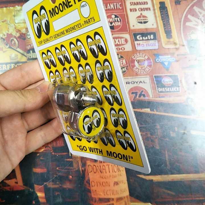 MOONEYES ムーンアイズ ナンバー用ボルト2個入り 1