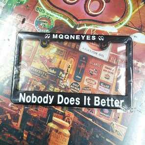MOONEYES ムーンアイズ ナンバー枠 ライセンスフレーム 2
