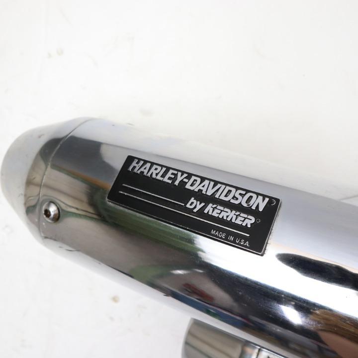 XL 883 1200 KERKER カーカー 65211-86A フルエキ マフラー サイレンサー エキパイ