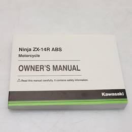 オーナーズ マニュアル ZX-14R ABS OWNER'S MANUAL 英語版
