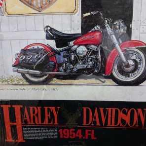 ジグソーパズル  ハーレーダビットソン1954FL