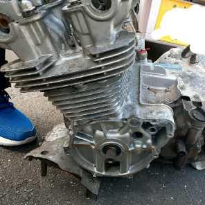 CB750Fエンジン