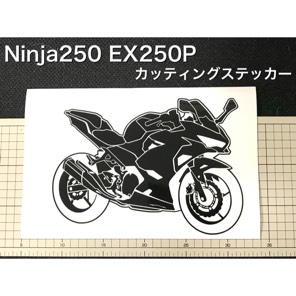 Ninja250 (EX250P)車体 カッティングステッカー