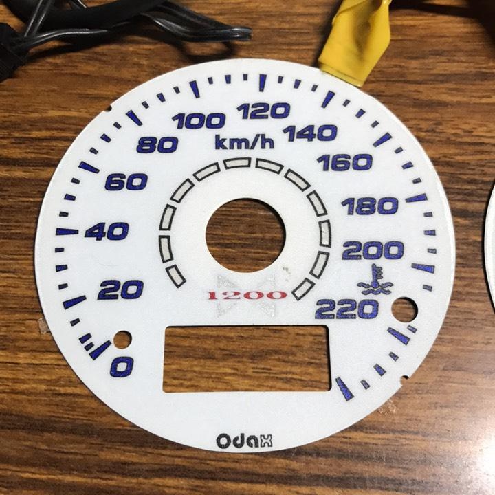 ZRX1200 ダエグ DAEG ODAX ELメーターパネル