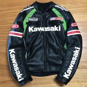 カワサキ X シンプソン レザージャケット