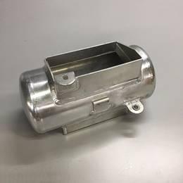 グラストラッカー用アルミバッテリーケース キャッチタンク風