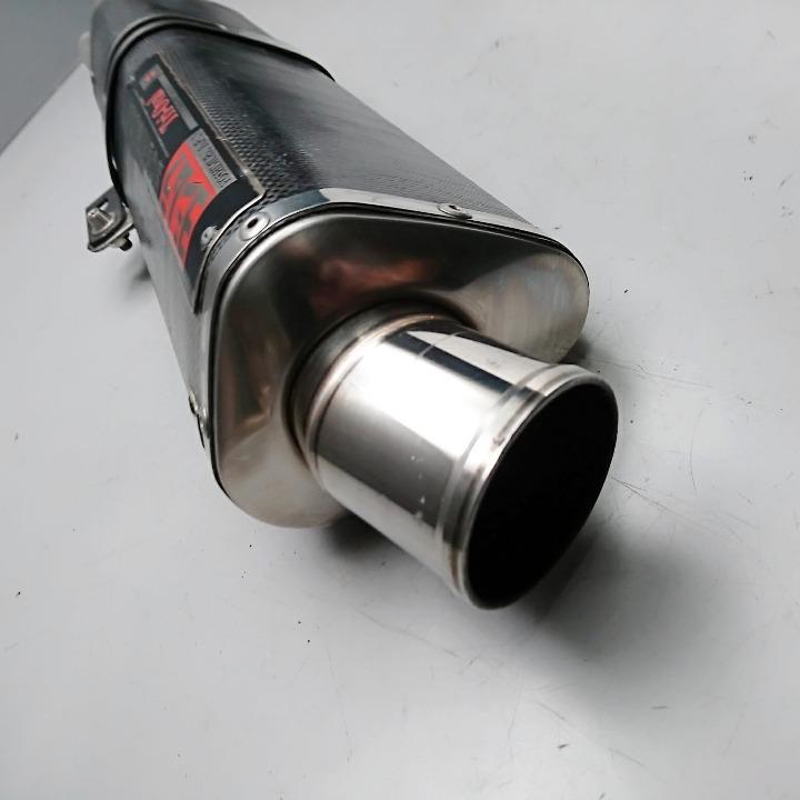 GSX-R1000 K1~K4 ヨシムラ カーボン トライオーバル サイレンサー スリップオン レース専用