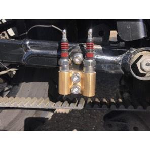 ワンオフ真鍮製プラグホルダー M12ピッチ1.25 ハーレー スポーツスター ツインカム等