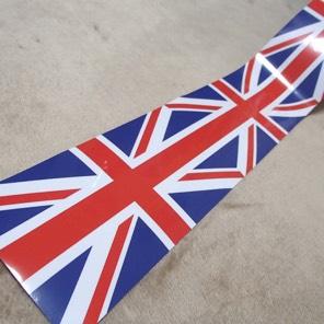 イギリスステッカー 英国シール ユニオンジャック UK