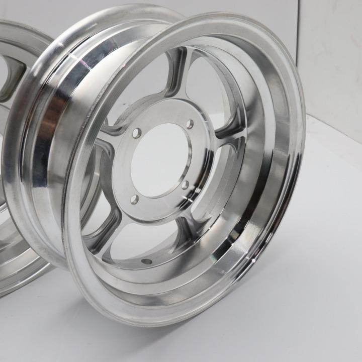 モンキー/ゴリラー 10インチアルミホイール新品未使用 アルミキャスト FRセット