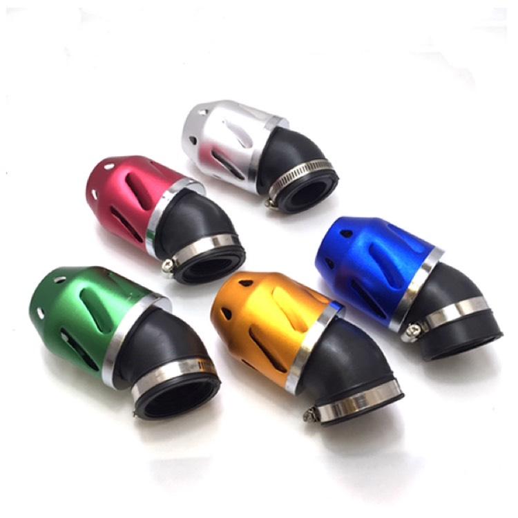 全天候型 パワーフィルター 汎用 35mm口径 45mm対応 原付等 カラー選択