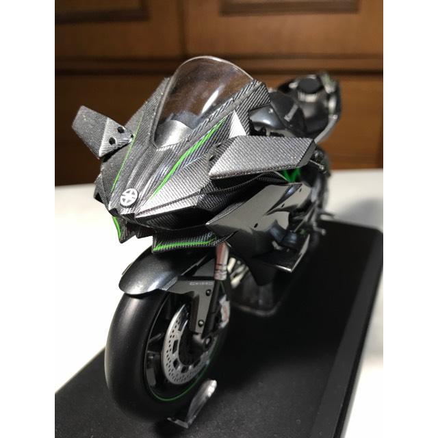 AOSHIMA1/12完成品バイクシリーズKAWASAKI Ninja H2 R