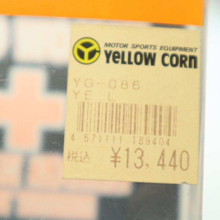新品未使用 YERROW CORN YG-086 グローブ Lサイズ ブラック