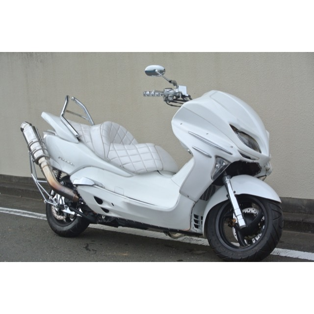 【HONDA フォルツァZ】オールホワイトカラー!!鉄板フルカスタム!!