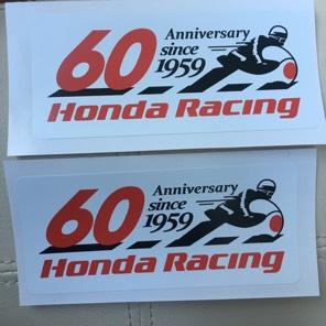 ホンダ レーシング 60周年 ステッカー