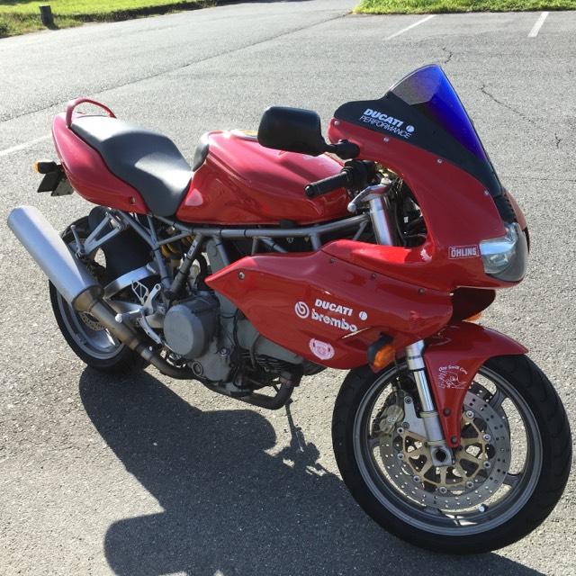 ドゥカティSS800ieバイクスーパースポーツ希少車ドカティMT