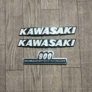 カワサキ純正Z1タンクエンブレム&サイドカバーエンブレム