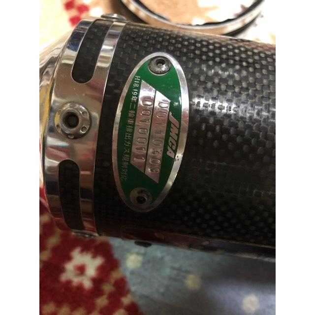 エイプ ヨシムラ機械曲げチタンサイクロンマフラー サイレンサー