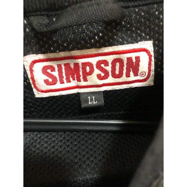 シンプソン メッシュジャケット