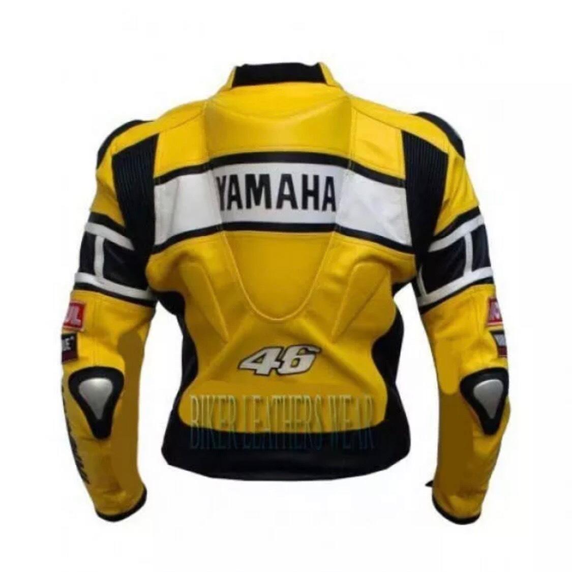 ヤマハ YAMAHA レーシングスーツ ジャケット 革ジャン ロッシ Sサイズ