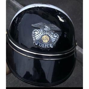 ハーレーダビッドソン カリフォルニアポリス レア!半ヘル ビンテージ 使用不可!