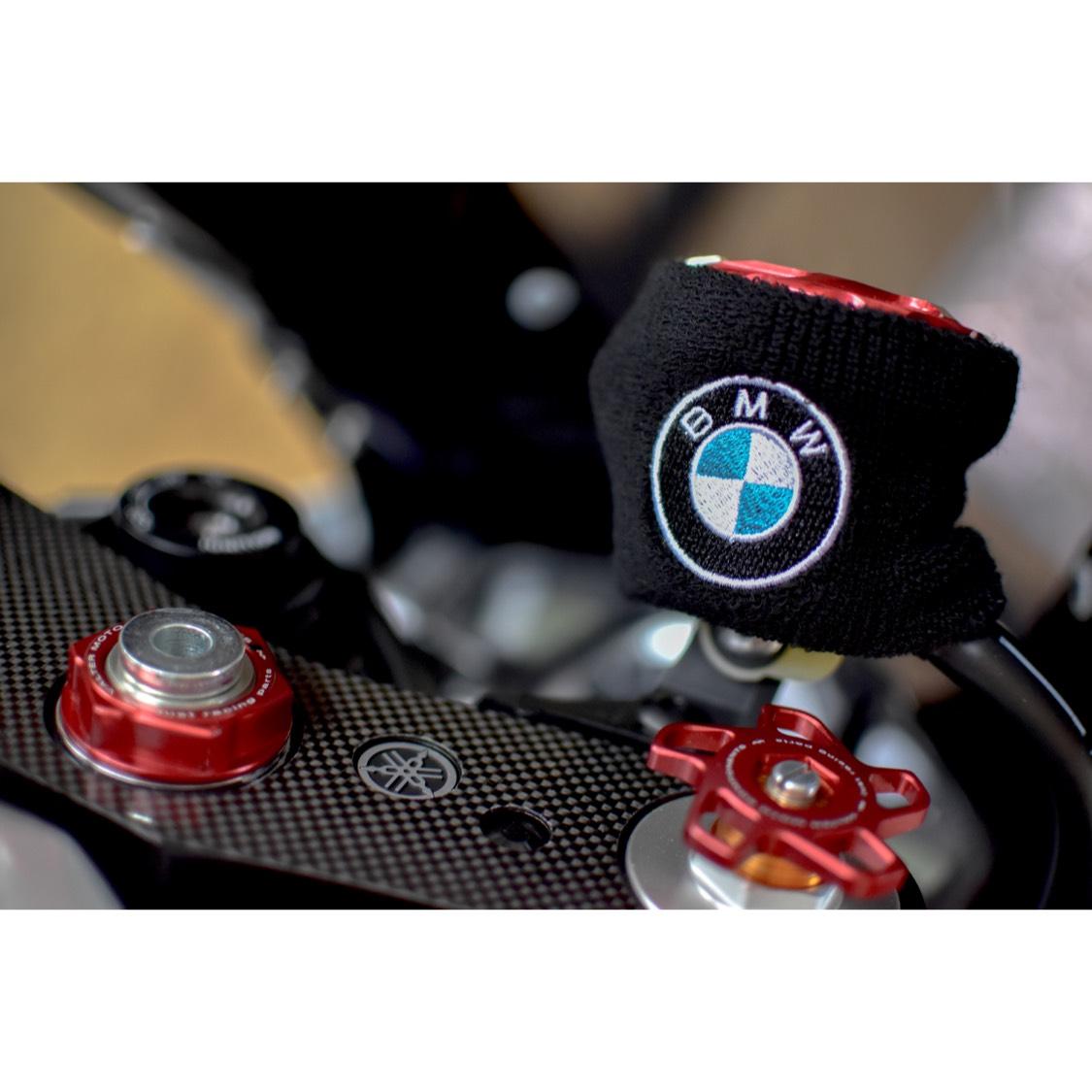 【数量限定】BMW 汎用 ブレーキマスターシリンダーカバー 新品!