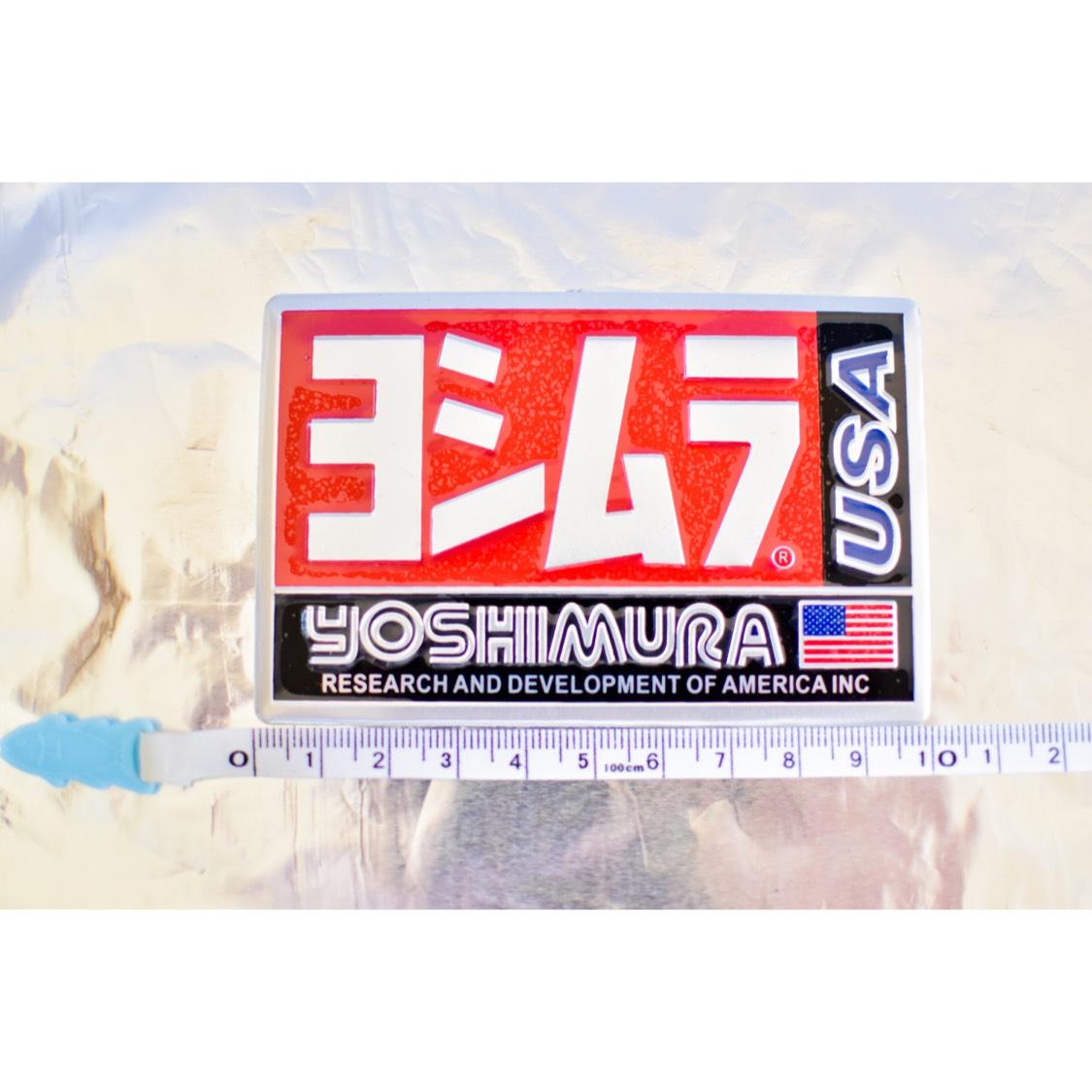 【数量限定】ヨシムラ 耐熱アルミステッカー 新品!