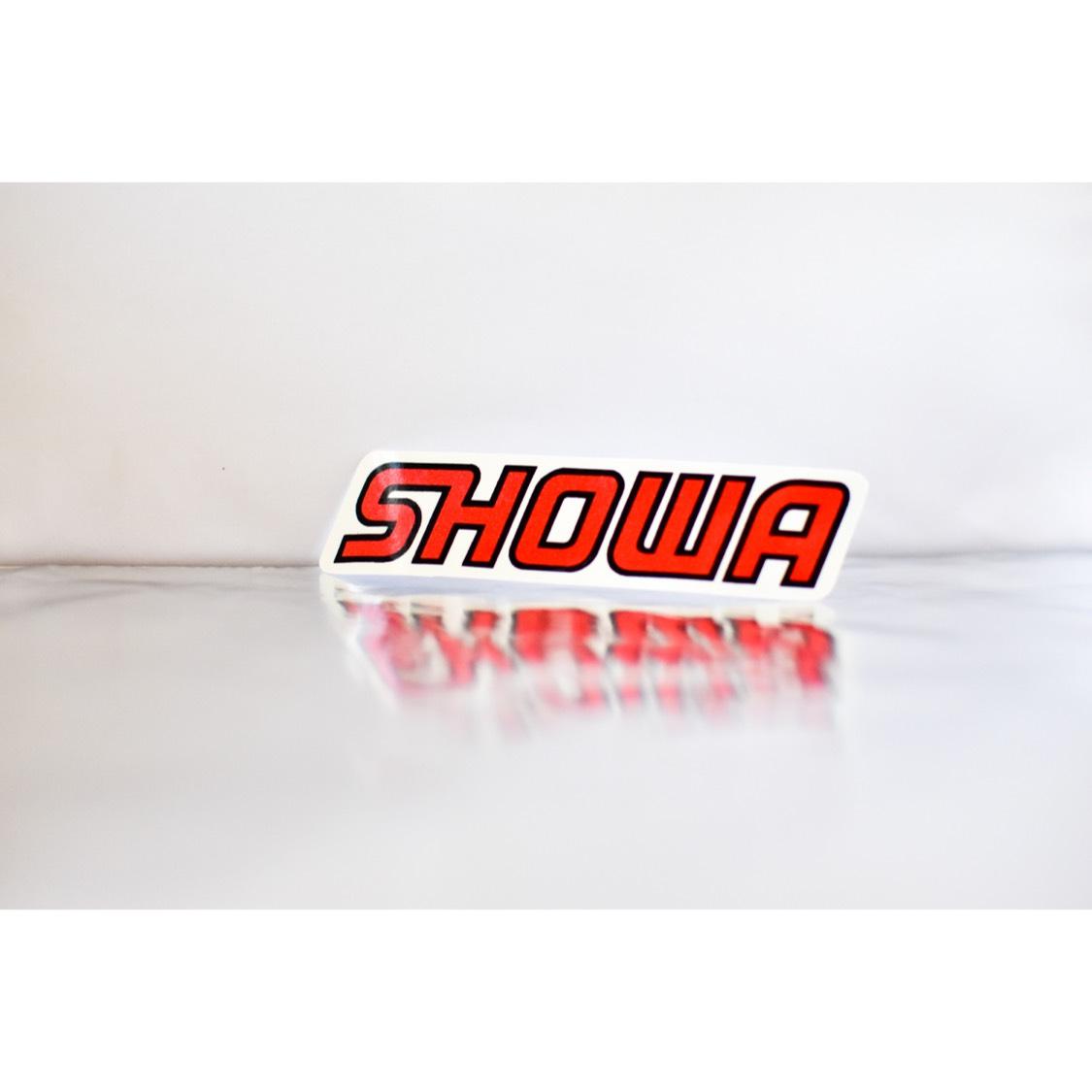 【数量限定】SHOWA ステッカー 新品!