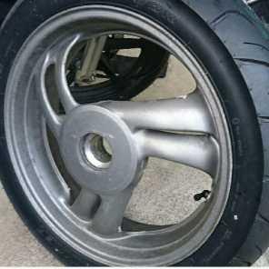 ブロス400ホイール 新品タイヤ付き