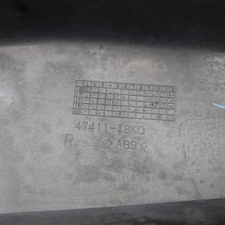 SUZUKI SV650 純正 サイドカバー 右側 47411-18K0