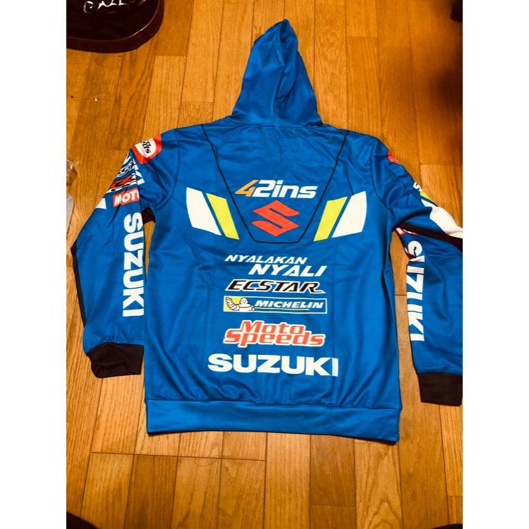 suzuki レーシングパーカー スズキ GSX アレックス リンス