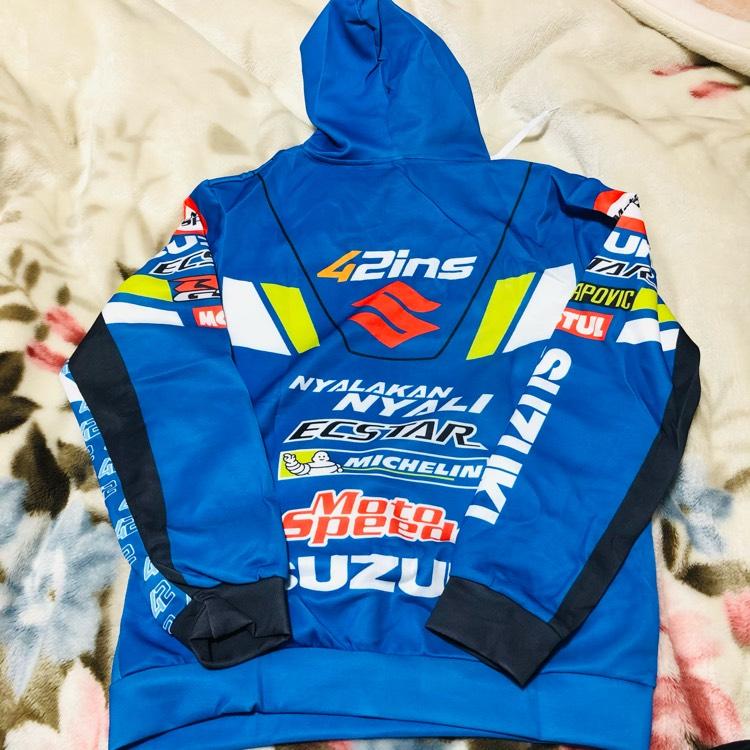 suzuki レーシングパーカー モトGP GSX リンス