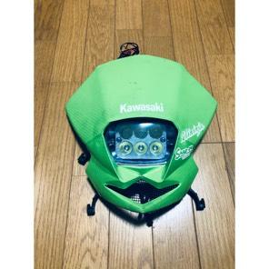 ksr110  アッパーカウル フロントマスク LED6連