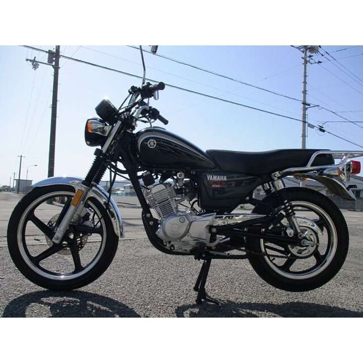 YAMAHA YB125SP BLACK 5939KM