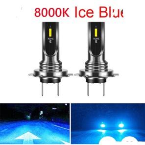 LEDヘッドライト H4 アイスブルー 8000K 新品