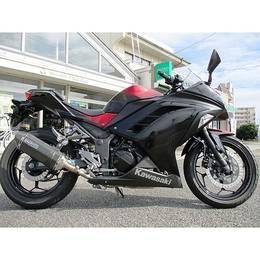 Ninja 250 (EX250L) BLACK/RED 4491KM 2017MODEL